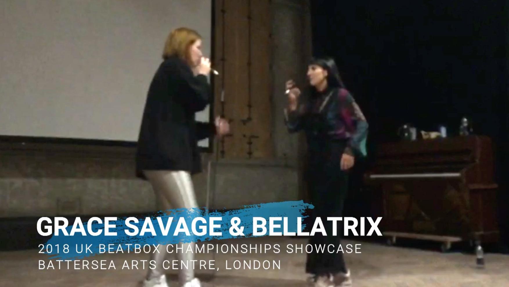 (video) Grace Savage & Bellatrix